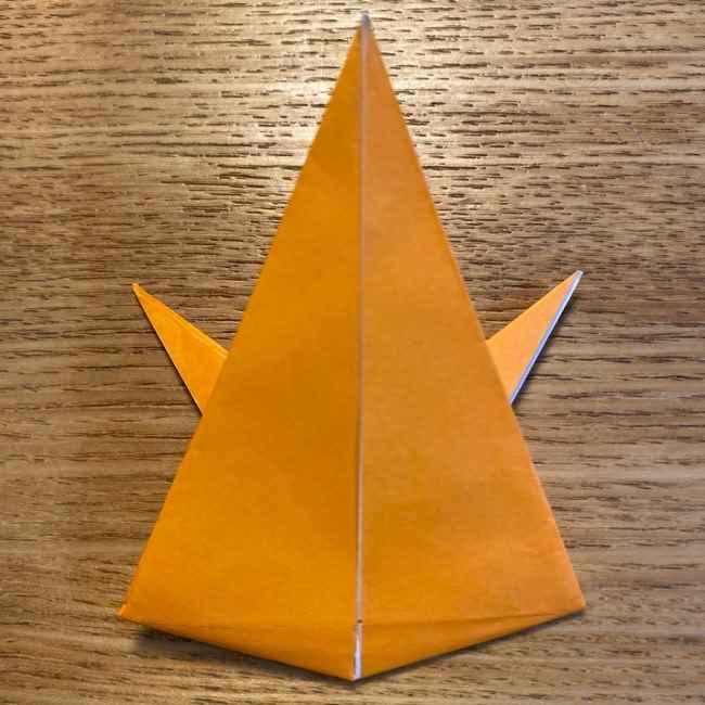 ポケモン 折り紙のポカブ 折り方作り方 (16)