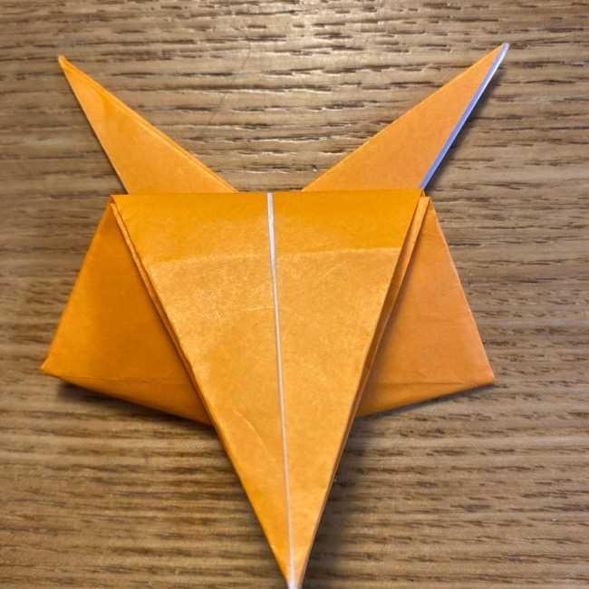 ポケモン 折り紙のポカブ 折り方作り方 (17)