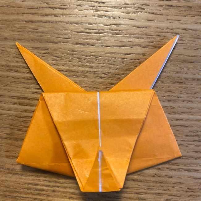 ポケモン 折り紙のポカブ 折り方作り方 (18)