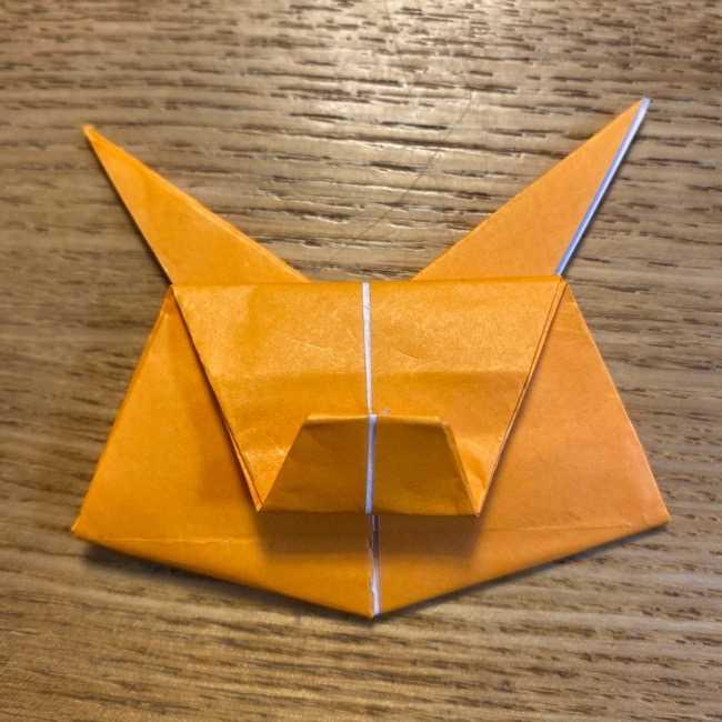 ポケモン 折り紙のポカブ 折り方作り方 (19)