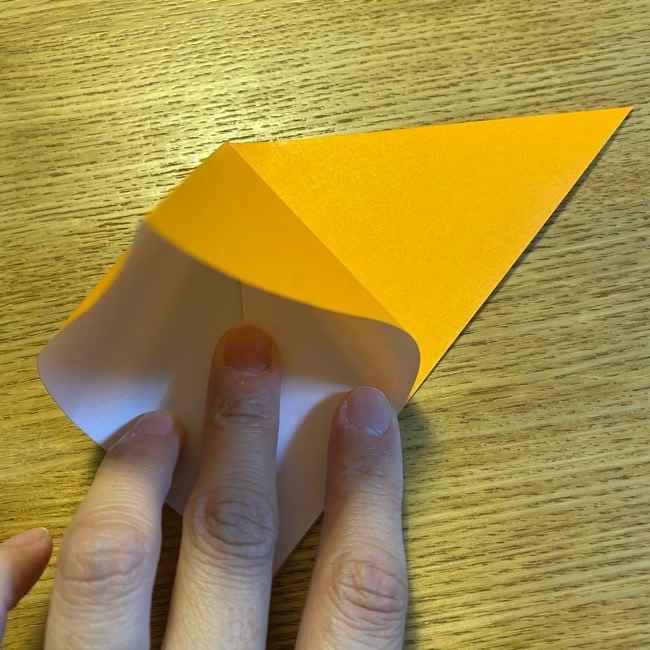 ポケモン 折り紙のポカブ 折り方作り方 (3)