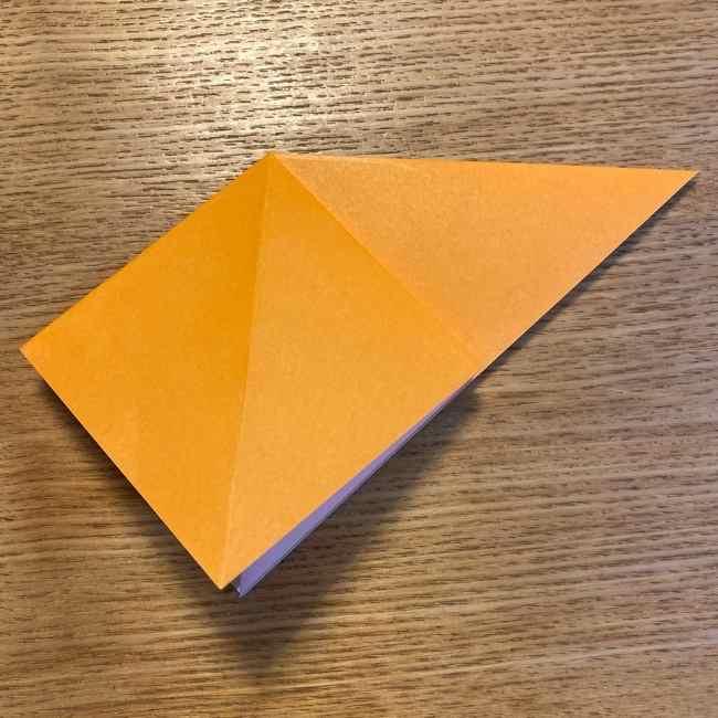 ポケモン 折り紙のポカブ 折り方作り方 (4)
