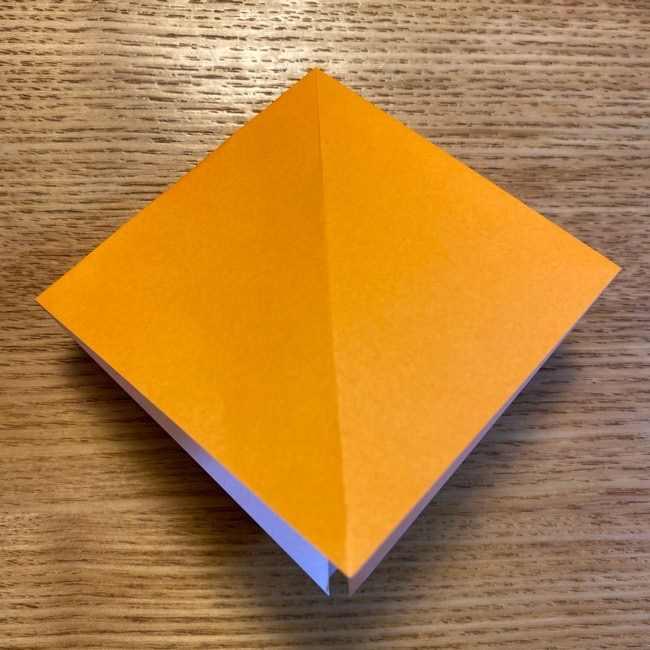 ポケモン 折り紙のポカブ 折り方作り方 (6)