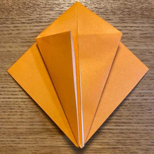 ポケモン 折り紙のポカブ 折り方作り方 (7)