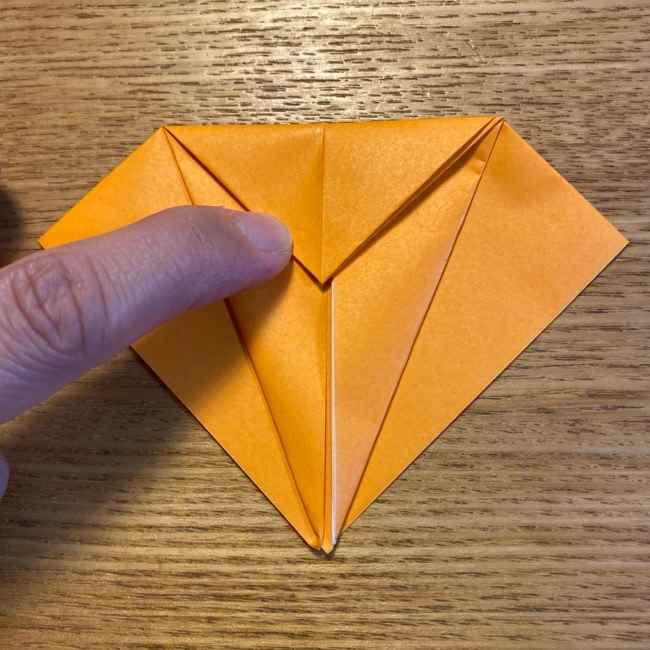 ポケモン 折り紙のポカブ 折り方作り方 (8)