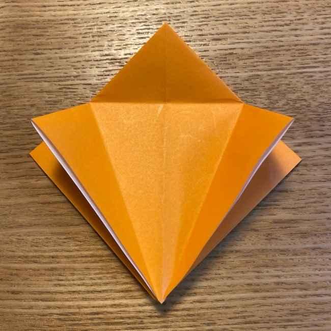 ポケモン 折り紙のポカブ 折り方作り方 (9)