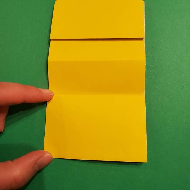 ミニオンの折り紙 折り方(平面)1(11)