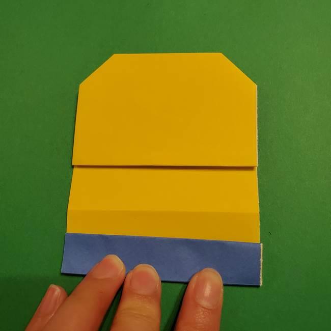 ミニオンの折り紙 折り方(平面)1(14)