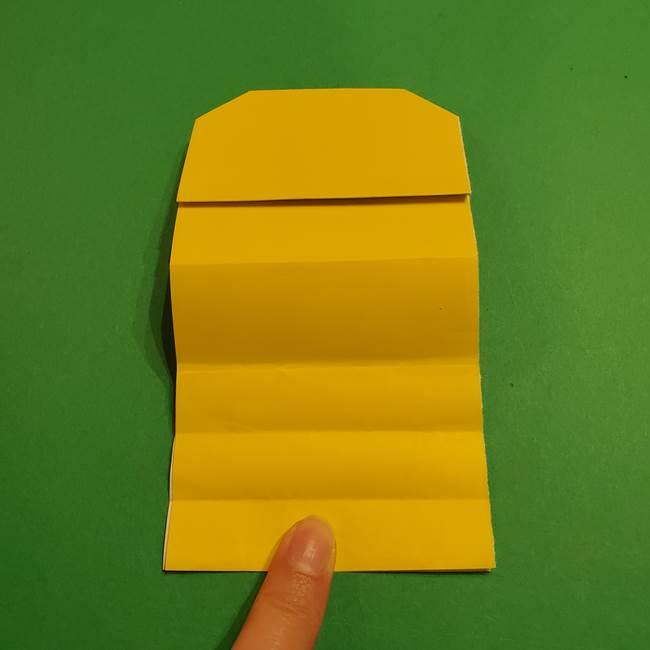 ミニオンの折り紙 折り方(平面)1(15)