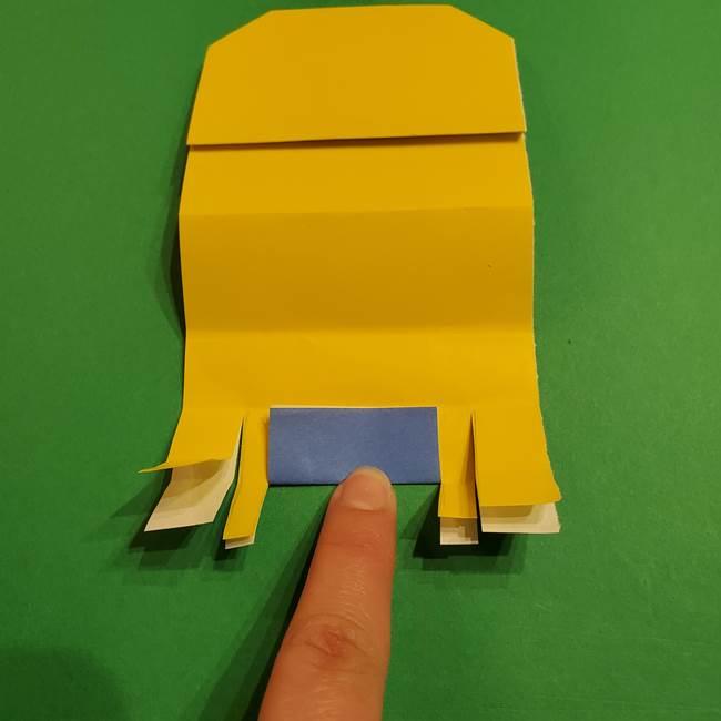 ミニオンの折り紙 折り方(平面)1(18)