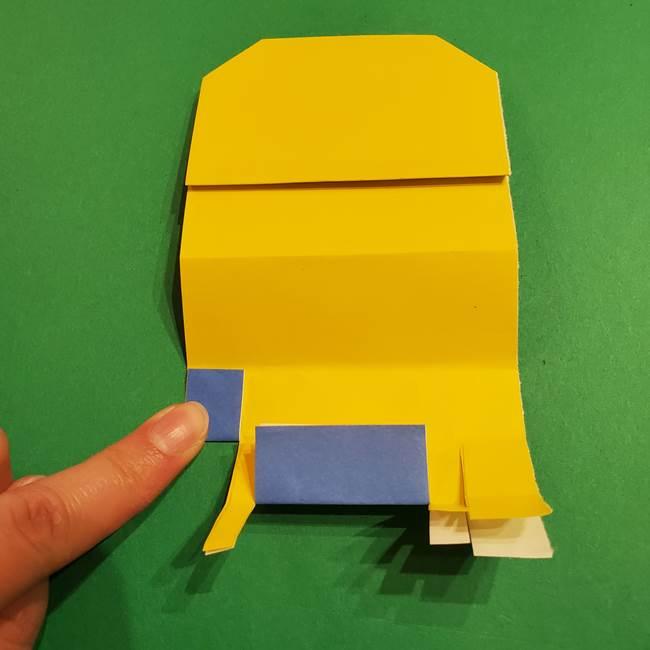 ミニオンの折り紙 折り方(平面)1(20)