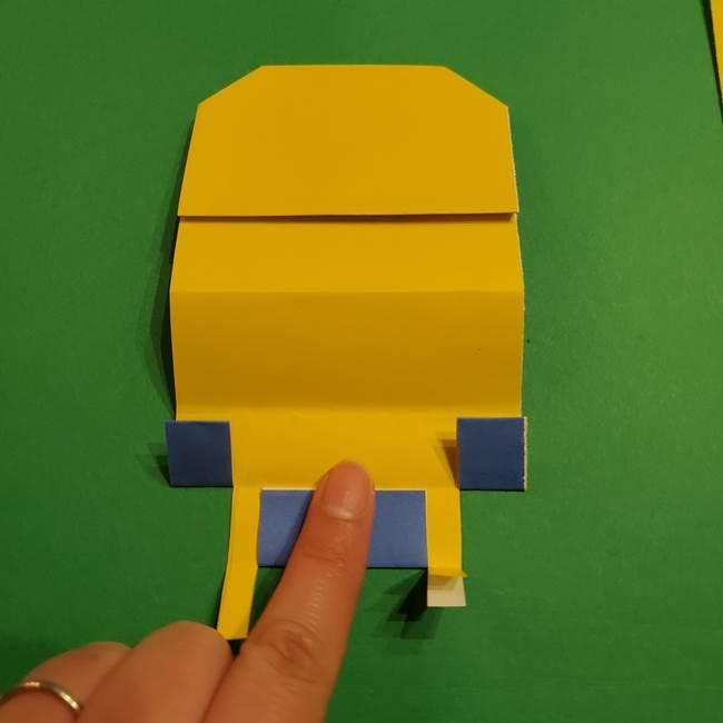 ミニオンの折り紙 折り方(平面)1(21)
