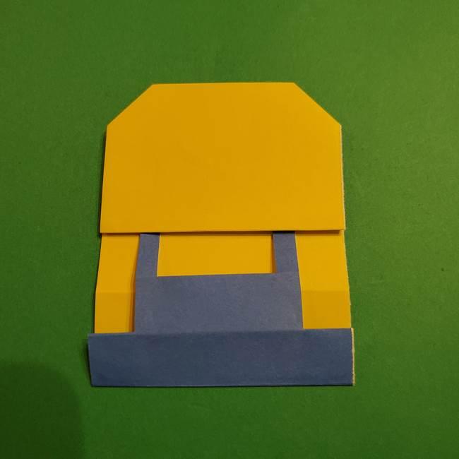 ミニオンの折り紙 折り方(平面)1(22)