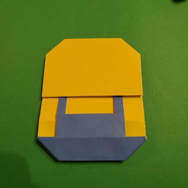 ミニオンの折り紙 折り方(平面)1(23)