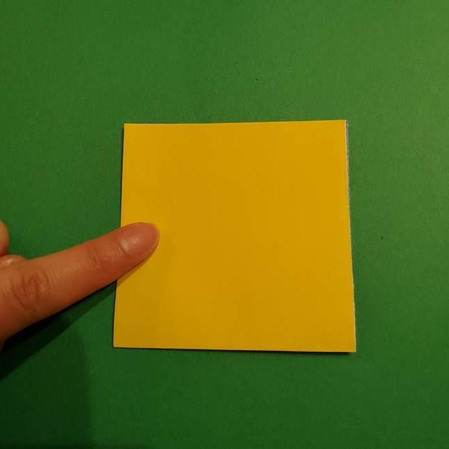 ミニオンの折り紙 折り方(平面)1(3)