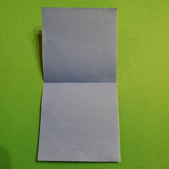 ミニオンの折り紙 折り方(平面)1(4)
