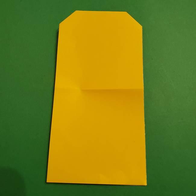ミニオンの折り紙 折り方(平面)1(6)