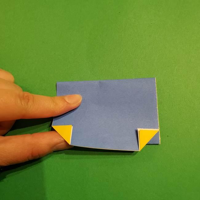 ミニオンの折り紙 折り方(平面)1(8)