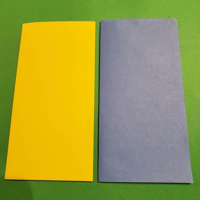 ミニオンの折り紙 折り方(平面)(2)