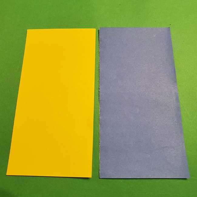 ミニオンの折り紙 折り方(平面)2(1)