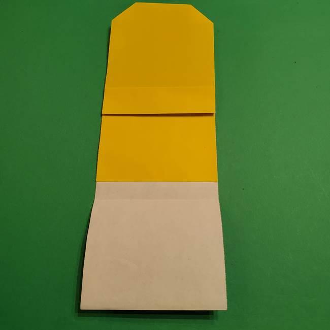 ミニオンの折り紙 折り方(平面)2(10)