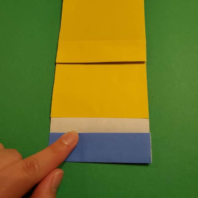 ミニオンの折り紙 折り方(平面)2(12)