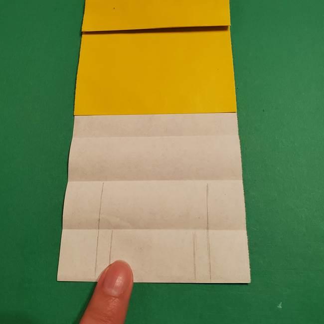 ミニオンの折り紙 折り方(平面)2(15)