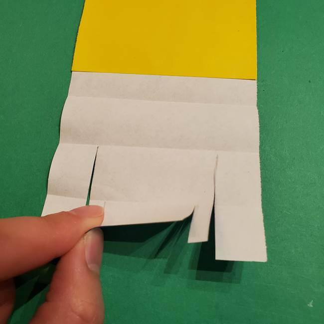 ミニオンの折り紙 折り方(平面)2(16)