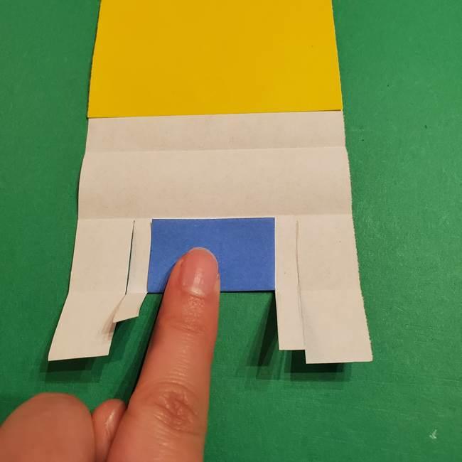 ミニオンの折り紙 折り方(平面)2(17)