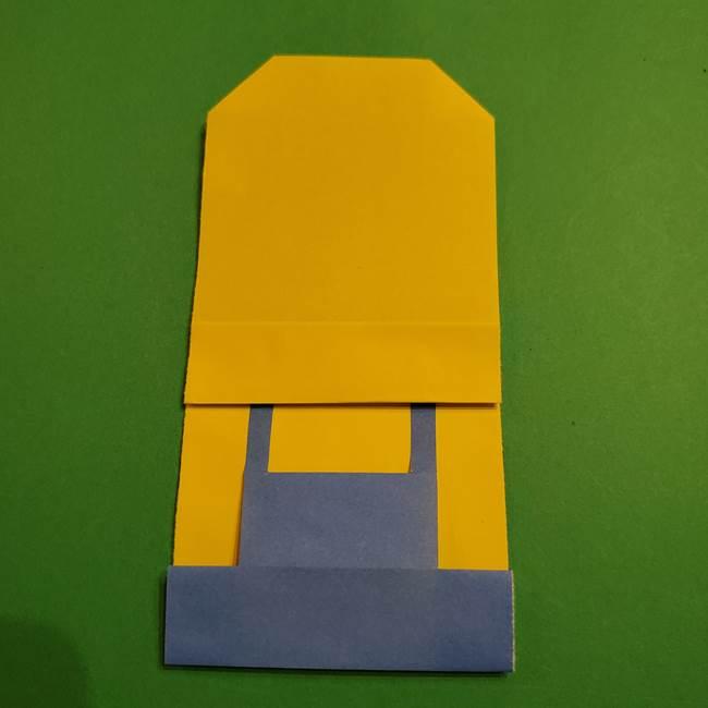 ミニオンの折り紙 折り方(平面)2(20)