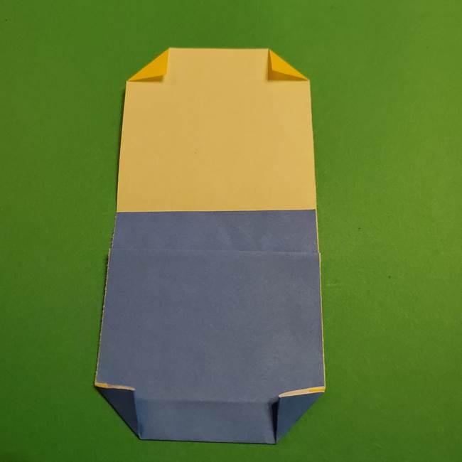 ミニオンの折り紙 折り方(平面)2(21)