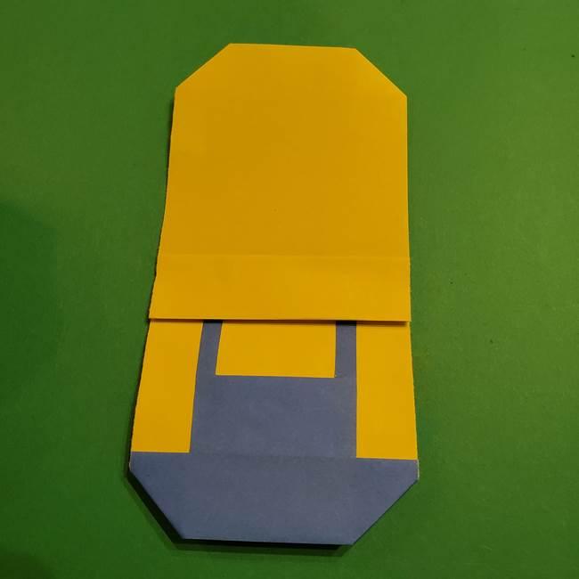 ミニオンの折り紙 折り方(平面)2(22)