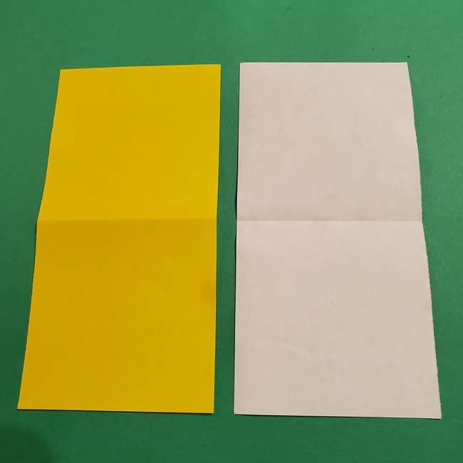 ミニオンの折り紙 折り方(平面)2(3)