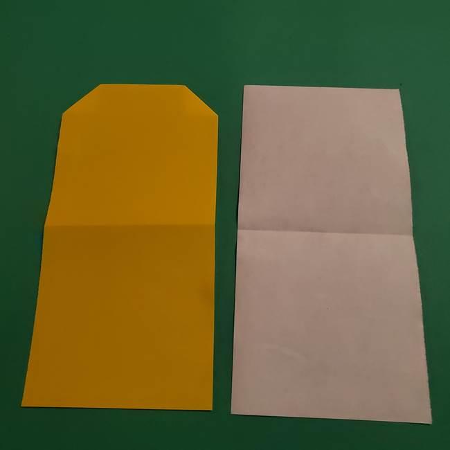 ミニオンの折り紙 折り方(平面)2(4)