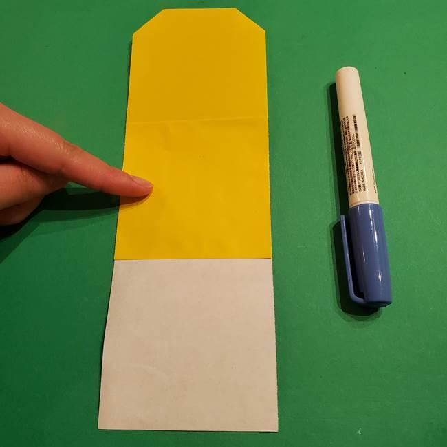 ミニオンの折り紙 折り方(平面)2(5)