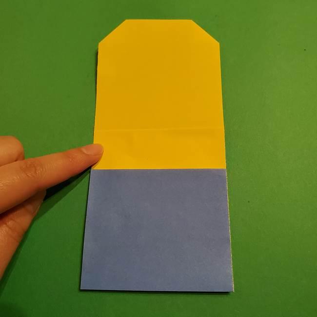 ミニオンの折り紙 折り方(平面)2(6)