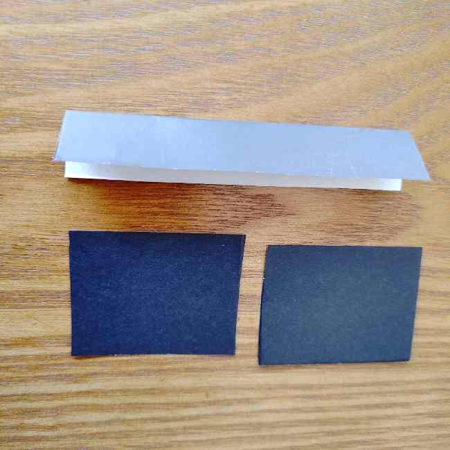 ミニオン 折り紙のメダルの作り方・折り方 (11)