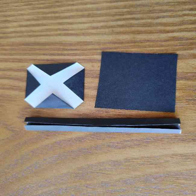 ミニオン 折り紙のメダルの作り方・折り方 (14)