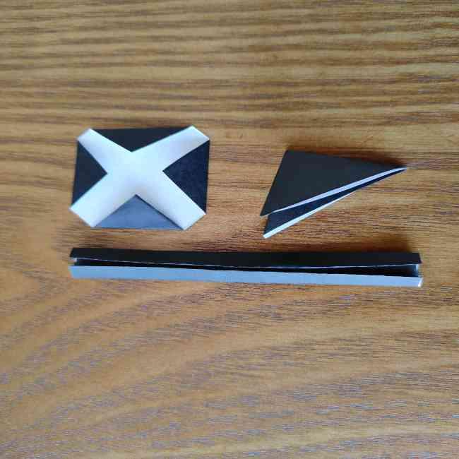 ミニオン 折り紙のメダルの作り方・折り方 (15)