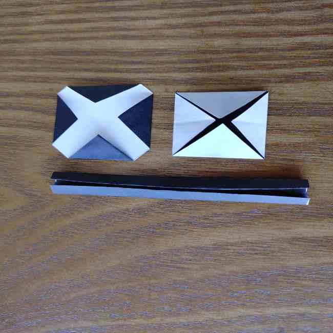 ミニオン 折り紙のメダルの作り方・折り方 (17)
