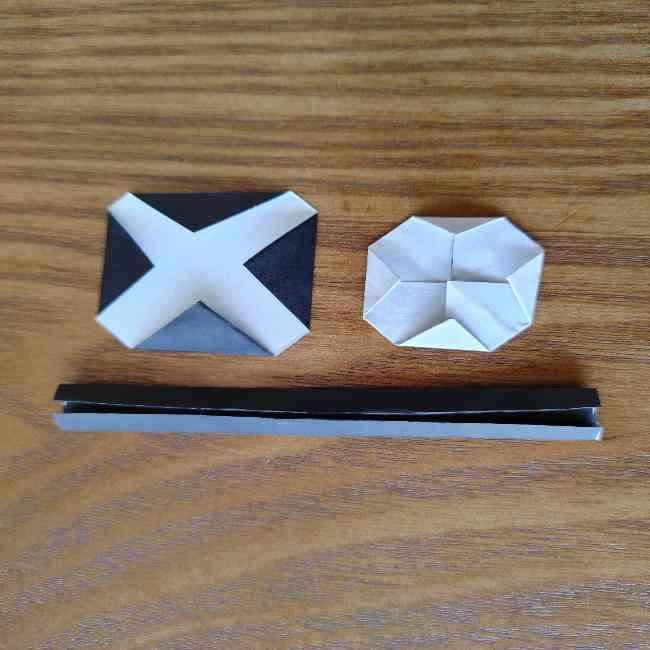 ミニオン 折り紙のメダルの作り方・折り方 (18)