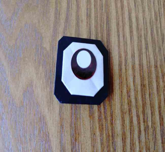 ミニオン 折り紙のメダルの作り方・折り方 (21)