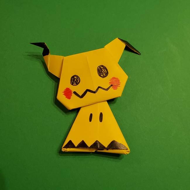 ミミッキュの折り紙の折り方☆ポケモンのかわいいキャラクターの作り方