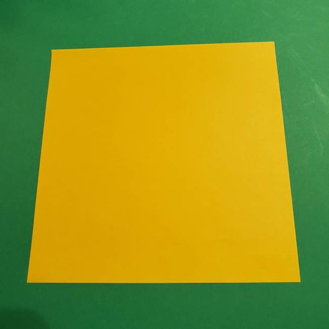 ミミッキュ 折り紙の折り方作り方1顔(1)