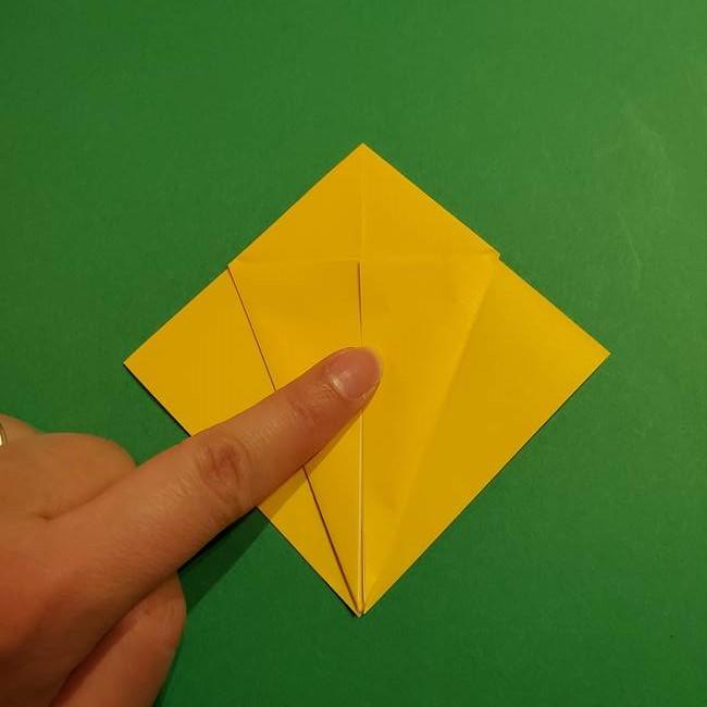ミミッキュ 折り紙の折り方作り方1顔(11)