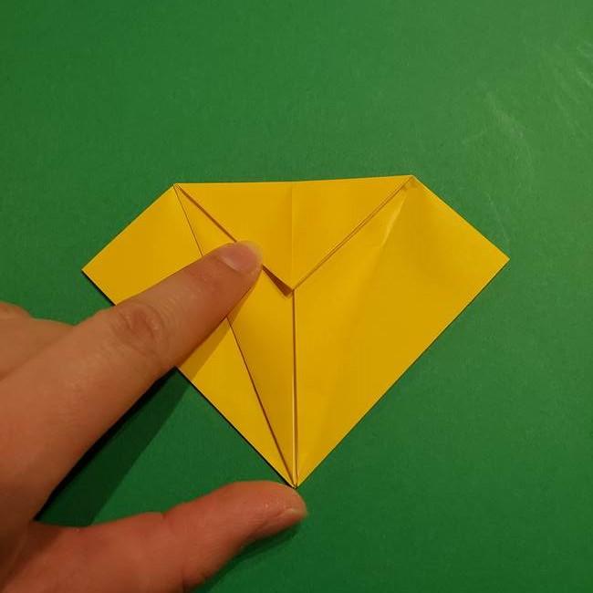 ミミッキュ 折り紙の折り方作り方1顔(12)