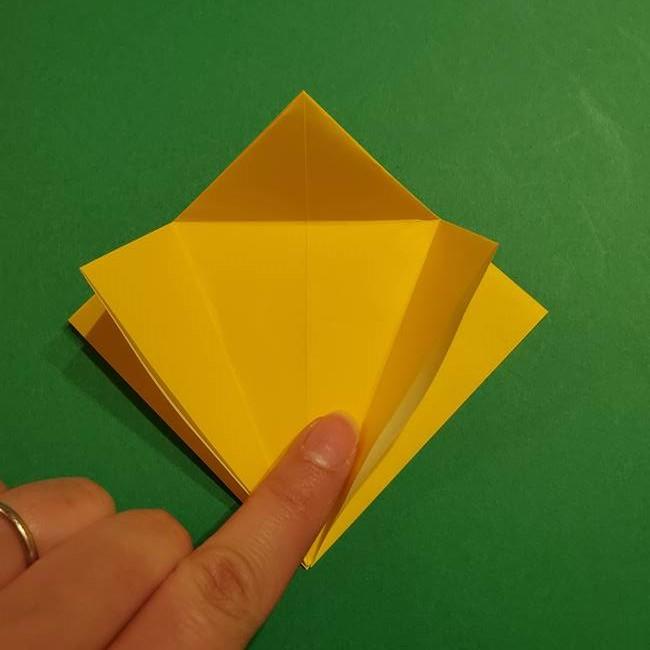 ミミッキュ 折り紙の折り方作り方1顔(13)