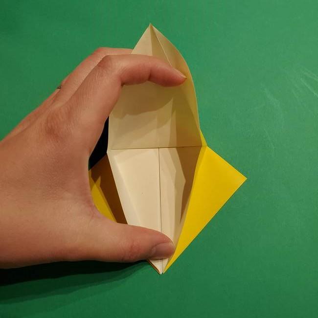 ミミッキュ 折り紙の折り方作り方1顔(14)