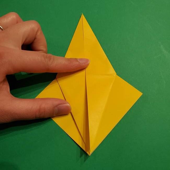ミミッキュ 折り紙の折り方作り方1顔(15)
