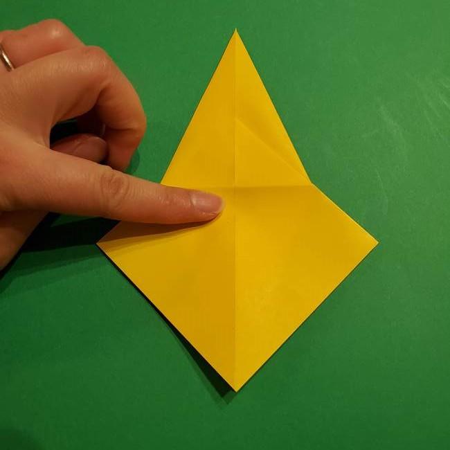 ミミッキュ 折り紙の折り方作り方1顔(16)